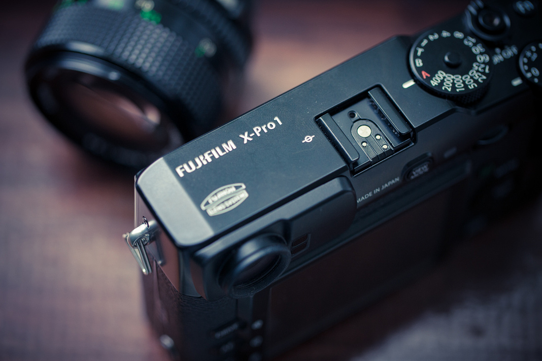 Fuji X-Pro1 camera