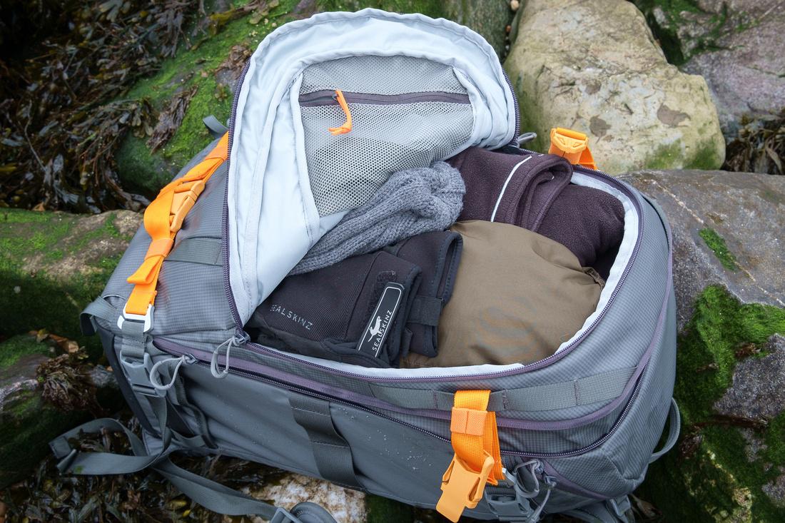 lower whistler camera backpack inside