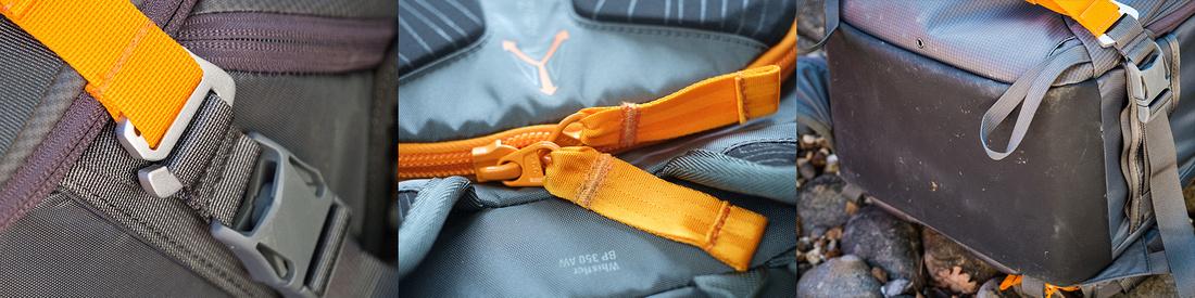 lower whistler camera backpack detail